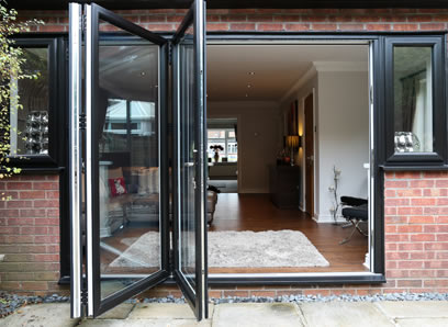 DIY Bifold Patio Door Installation